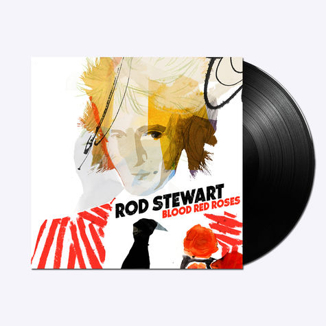 Rod Stewart: Blood Red Roses (LP)