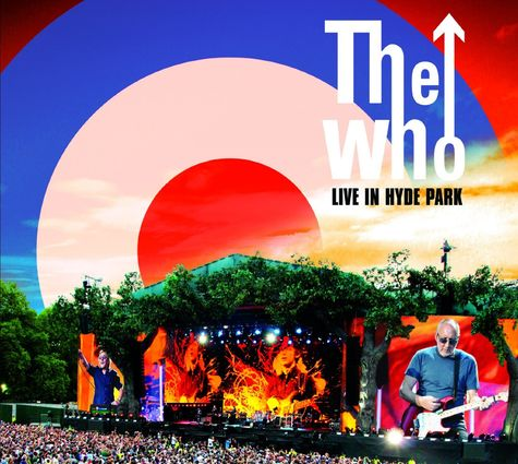 The Who: Live in Hyde Park 06.26.15 (Deluxe Blu-Ray + DVD + 2CD)