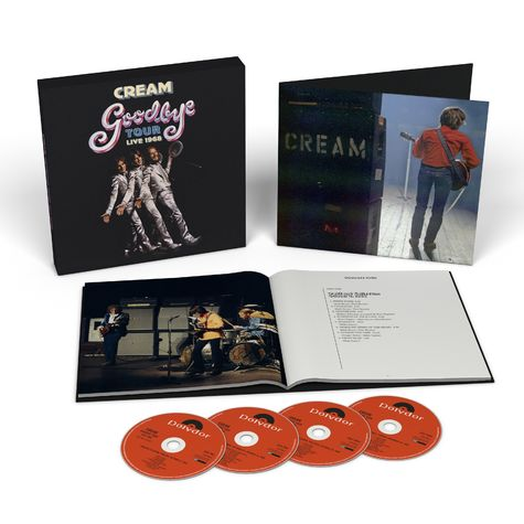 Cream: Goodbye Tour - Live 1968 (4CD)