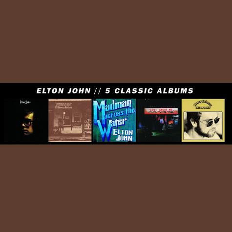 Elton John: 5 Classic Albums (5CD)