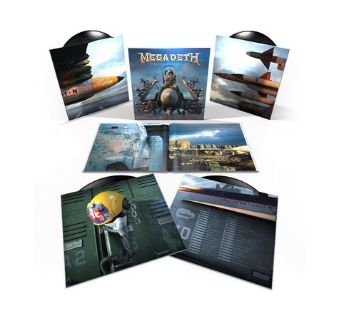 Megadeth: Warheads To Your Foreheads (4LP)