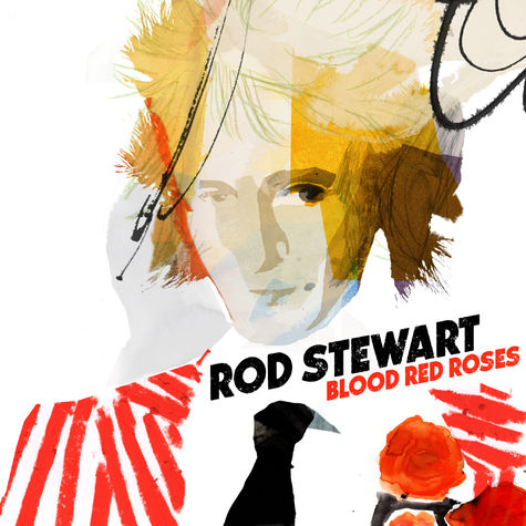 Rod Stewart: Blood Red Roses (CD)
