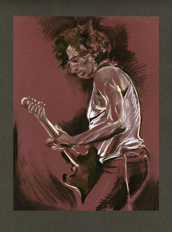 Ronnie Wood: Weaver (With personal dedication message)