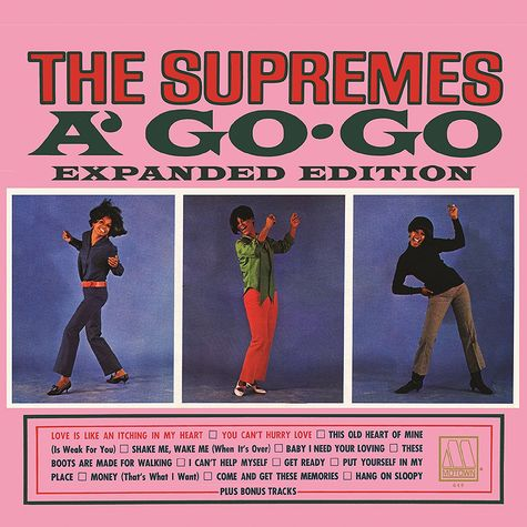 Diana Ross: The Supremes A Go-Go: Expanded Edition (2CD)