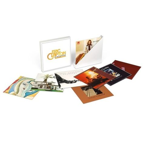 Eric Clapton: The Studio Album Collection (8LP)