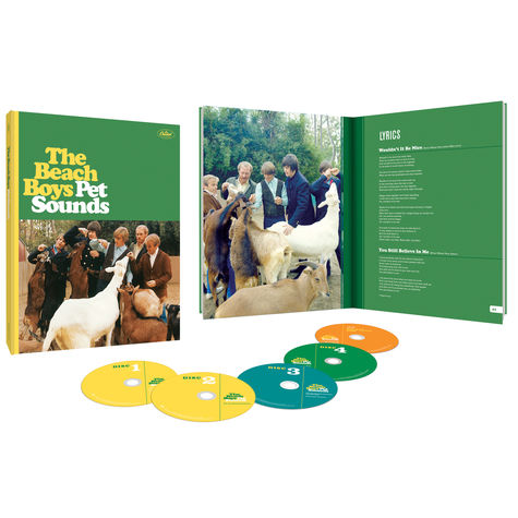 The Beach Boys: Pet Sounds - 50th Anniversary (Deluxe Edition) (4CD/BLU-RAY)
