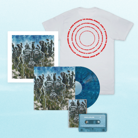 Disclosure: When A Fire Starts To Burn Signed Bundle