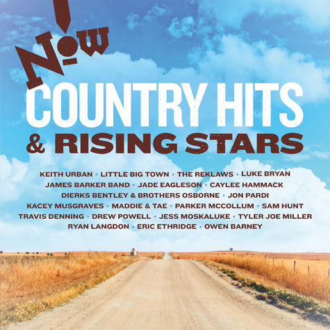 Various Artists: NOW! Country: Hits & Rising Stars (CD)