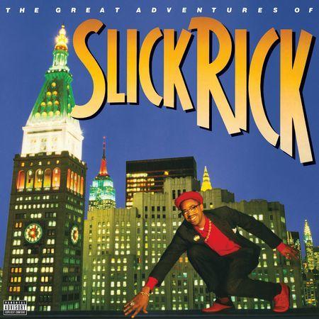 Slick Rick: Slick Rick - The Great Adventures Of Slick Rick (2 LP) (Transparent Blue)