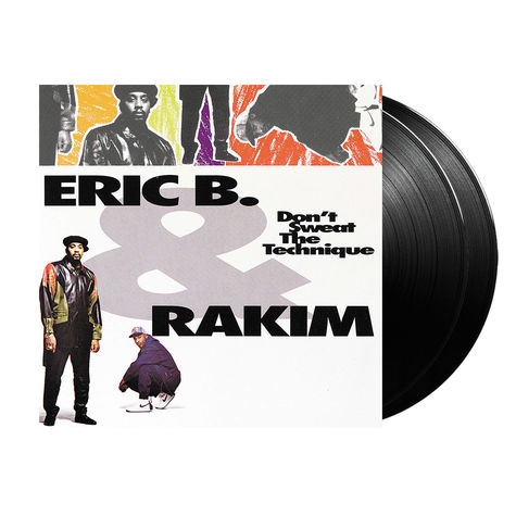 Eric B. & Rakim: Don't Sweat The Technique (2LP)