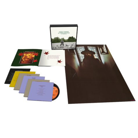George Harrison: All Things Must Pass (Super Deluxe Edition) (5CD/ 1 BluRayAudio)
