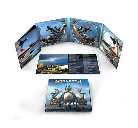 Megadeth: Warheads To Your Foreheads (3CD)