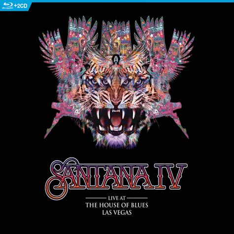 Santana: Live At The House Of Blues, Las Vegas (Blu-Ray + 2CD)