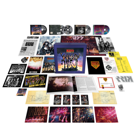 Kiss: Destroyer 45th  (Super Deluxe Edition) (4CD + BluRay Audio)