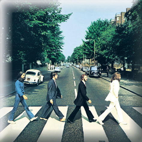 The Beatles: Abbey Road Pin