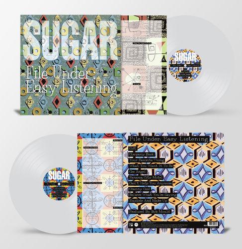 Sugar: File Under: Easy Listening: Limited Edition Heavyweight Clear Vinyl