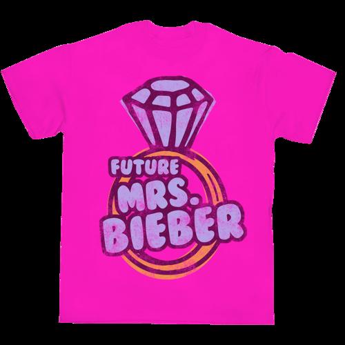 Justin Bieber: MRS. BIEBER T-SHIRT