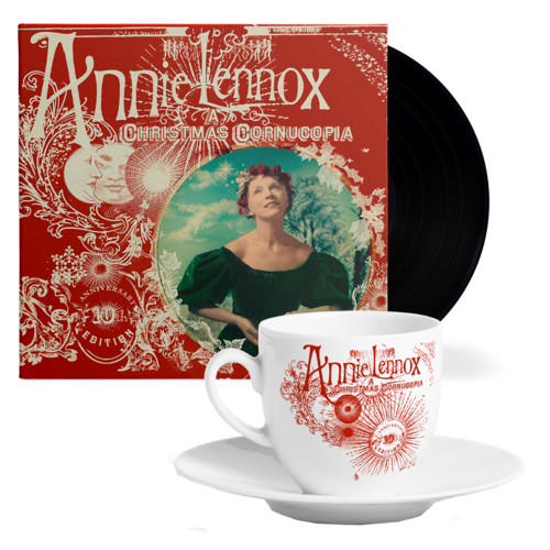 Annie Lennox: A Christmas Cornucopia (10th Anniversary) : Vinyl + Tea Cup & Saucer