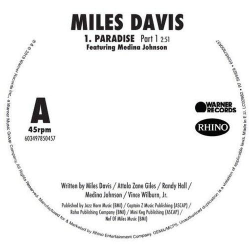 Miles Davis: Paradise 7