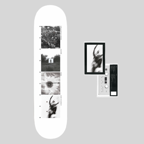 Ben Howard: Collections From The Whiteout: White Skate Deck 8.25