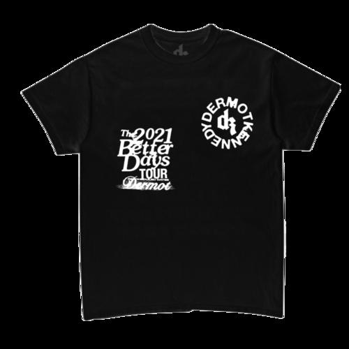 Dermot Kennedy: Better Days Black Logo Tee