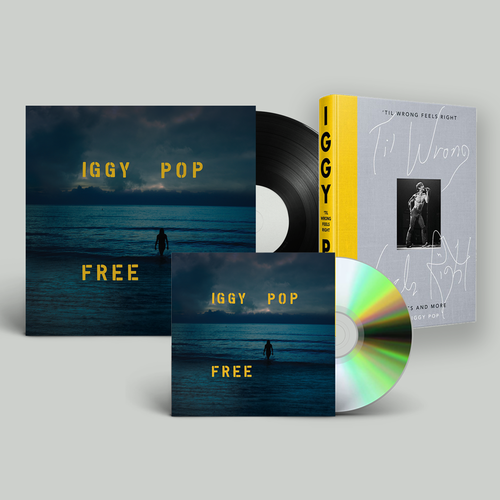 Iggy Pop: Free, 'Til Wrong Feels Right: Exclusive All-Rounder Bundle