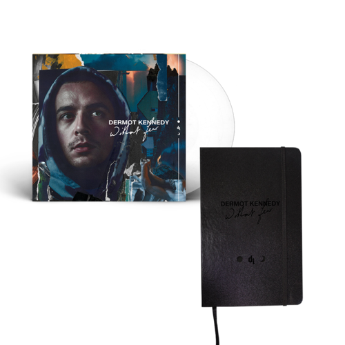 Dermot Kennedy: WITHOUT FEAR: LIMITED EDITION WHITE VINYL + Notebook