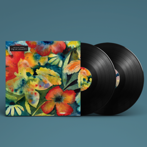 Adrianne Lenker: songs and instrumentals: Deluxe Double Vinyl + Double-Sided Lithograph