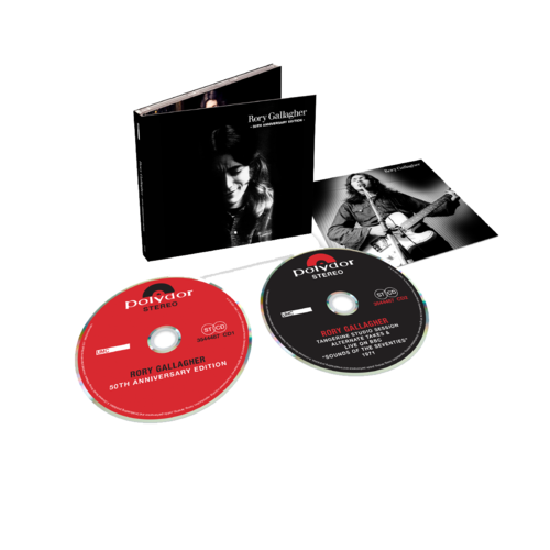 Rory Gallagher: NEW Rory Gallagher (50th Anniversary Edition): 2CD