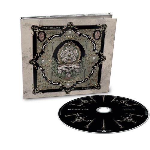 Paradise Lost: Obsidian: Limited Edition Digipack CD + Exclusive Signed Insert