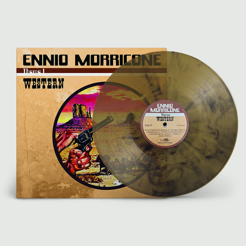 Ennio Morricone: Western: Limited Edition Gun-Smoke Coloured Vinyl