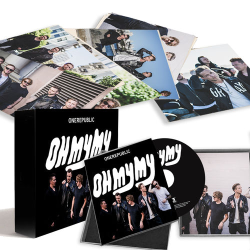 OneRepublic: Oh My My Limited Edition CD Boxset + MP3