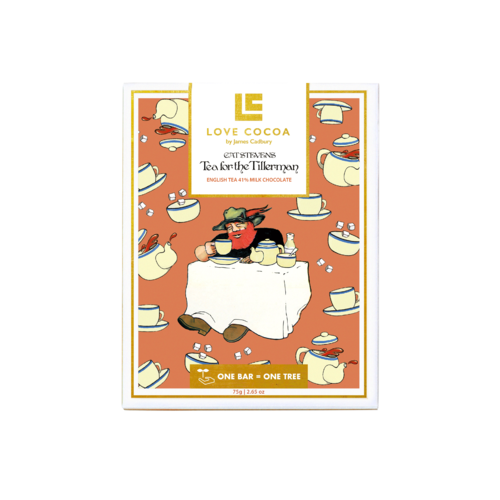Cat Stevens: Tea for the Tillerman chocolate by Love Cocoa