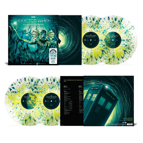 Original Soundtrack: Doctor Who - The Underwater Menace: Limited Edition Volcanic Vinyl