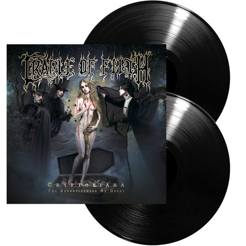 Cradle Of Filth: Cryptoriana – The Seductiveness Of Decay: Ltd Edition Gatefold Vinyl