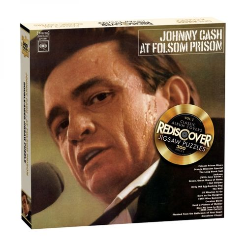 Johnny Cash: Live At Folsom Prison Jigsaw Puzzle