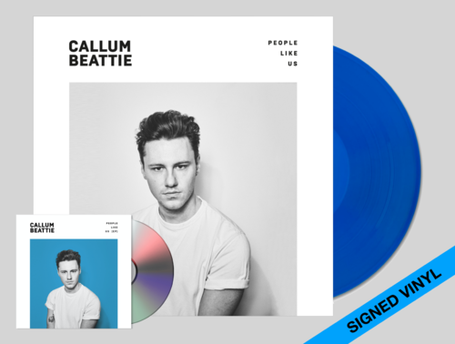 Callum Beattie: 'People Like Us' LIMITED EDITION SIGNED BLUE VINYL / EP FORMAT