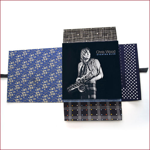 Chris Wood: Evening Blue: Deluxe Leather Case Book Set Version