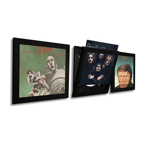 Art Vinyl: Art Vinyl Play & Display Flip Frame - Black (Triple)