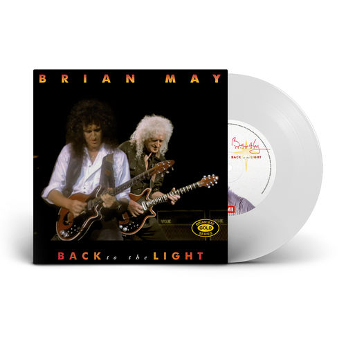 Brian May: Back To The Light (2021 Mix) (White Vinyl)
