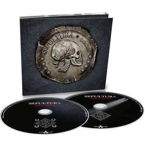 Sepultura: Quadra: Limited 2CD Digipack