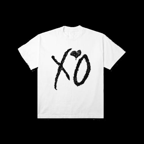 The Weeknd: XO CLASSIC LOGO TEE WHITE