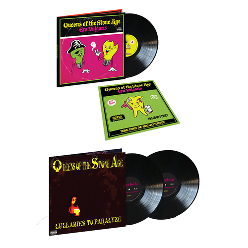 Queens Of The Stone Age: Lullabies To Paralyze & Era Vulgaris: Deal Of The Day Bundle