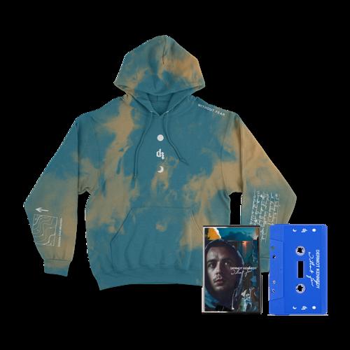 Dermot Kennedy: Without Fear: Blue Cassette + Wicklow Mountains Hoodie
