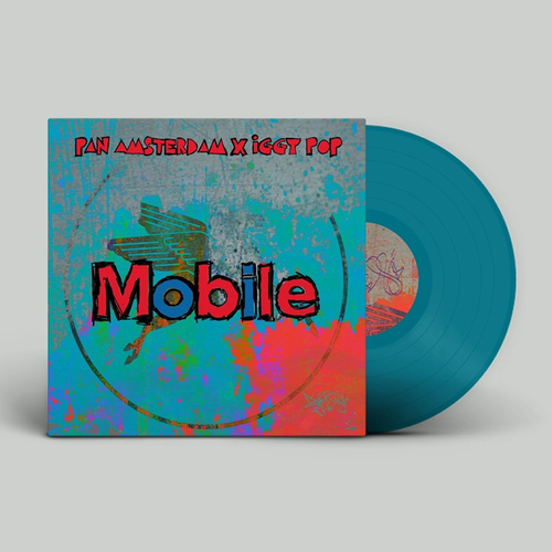 Iggy Pop: Mobile: Limited Edition Blue 7