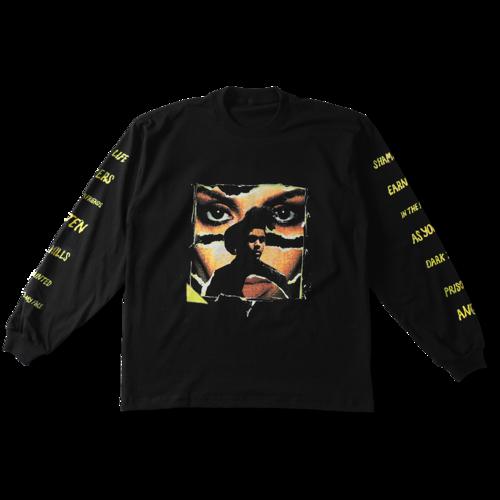 The Weeknd: TRACKLIST LONGSLEEVE