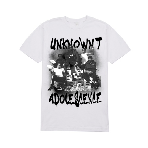 Unknown T: Adolescence White Tee