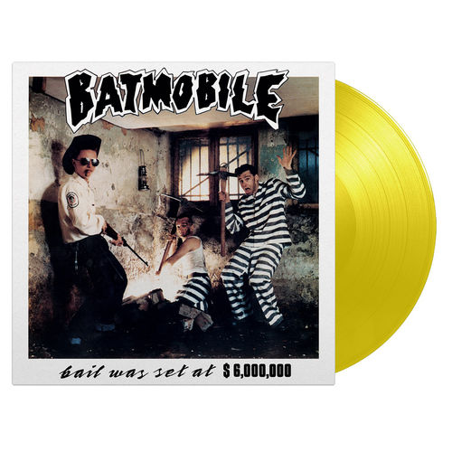 Batmobile: Bail Was Set At $6,000,000 - 30th Anniversary Edition: Yellow Vinyl