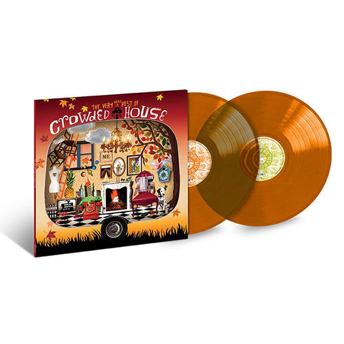 Crowded House: The Very Very Best Of Crowded House Coloured Vinyl