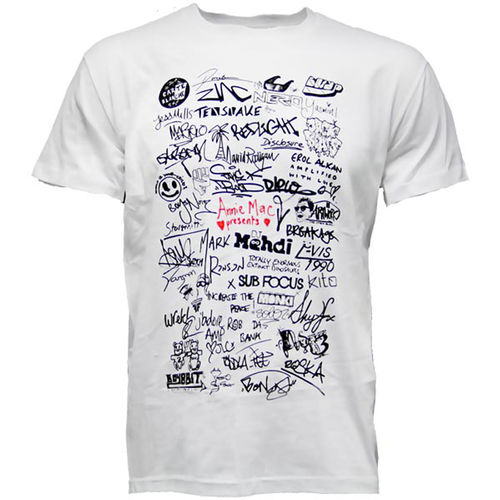 Annie Mac: AMP Signed T-Shirt (White)